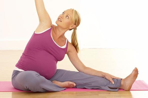 гимнастика для беременных в картинках