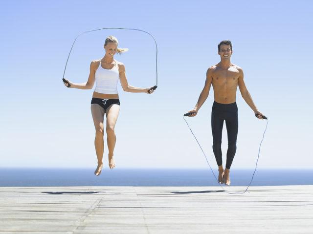 прыжки на скакалке для похудения таблица калорий