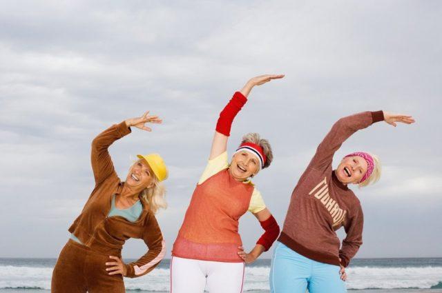 физические упражненияв любом возрасте