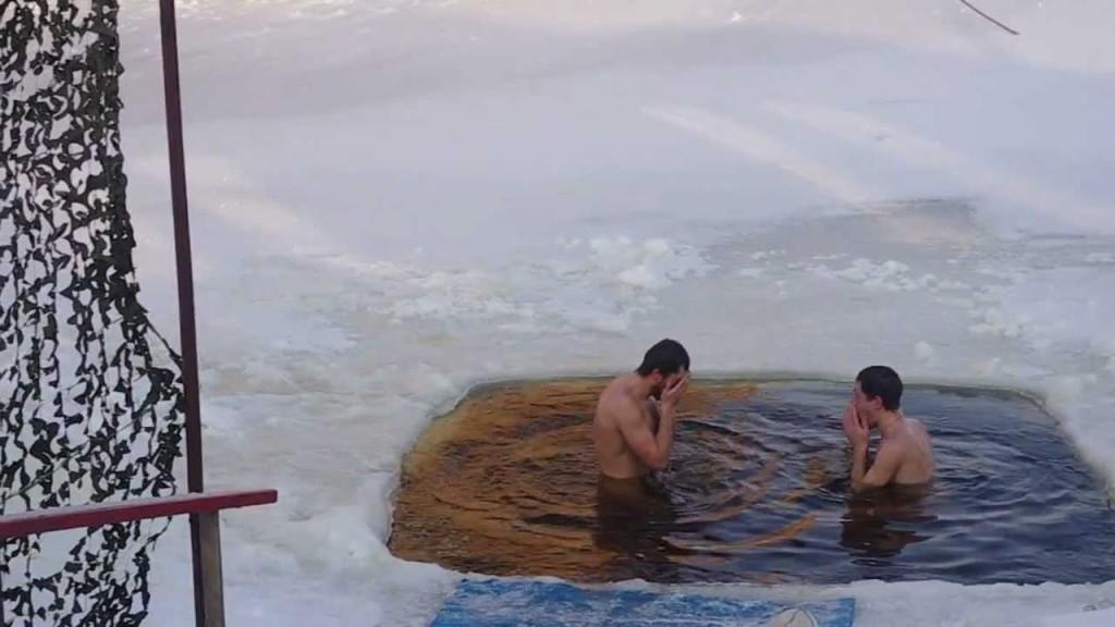 купание голышом в проруби